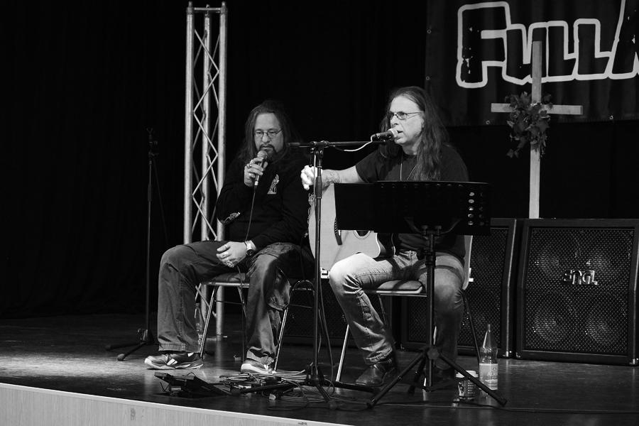 Victor Griffin (Pentragram) @FMO Rock-Gottesdienst