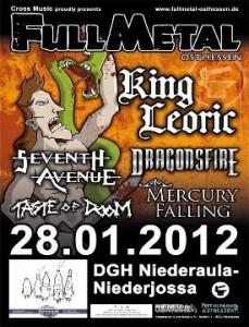 Full Metal Osthessen 2012 Flyer