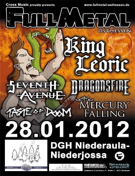 Full Metal Osthessen 2012 Flyer
